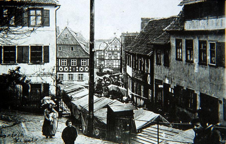 Krautmarkt am Flecken im September 1911