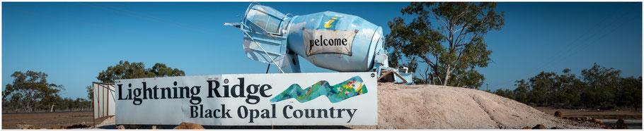 Australien, Australia, Reisebericht Australien, Reisebericht Queensland, Queensland, New South Wales, Lightning Ridge, Black Opals, Black Opal, Opalfelder
