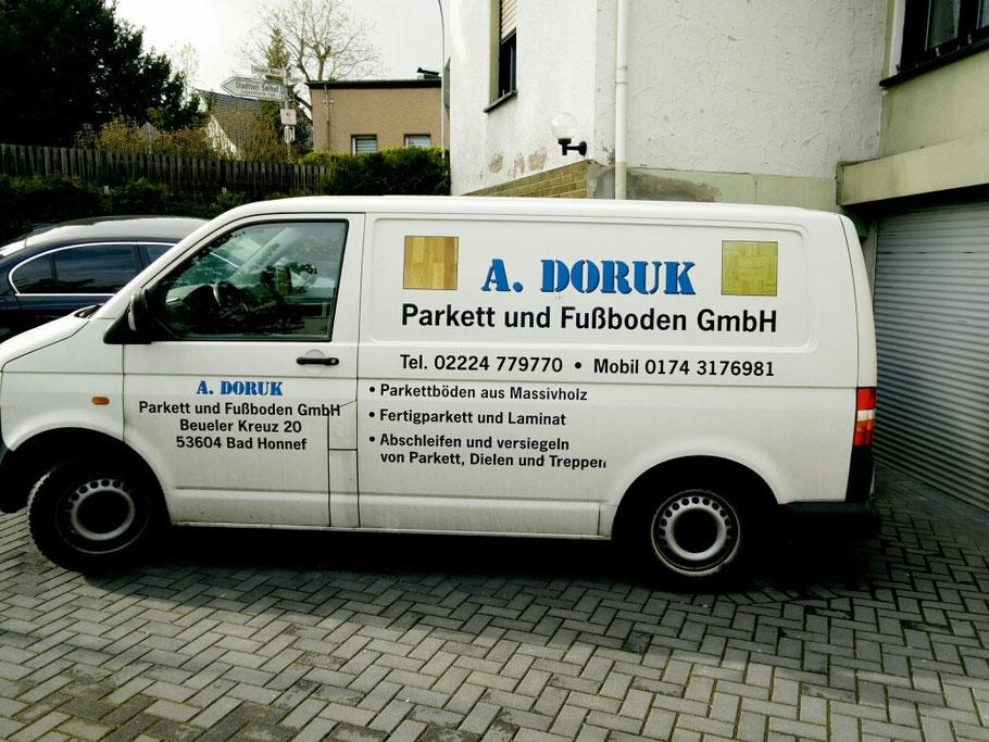 Unser Firmenwagen