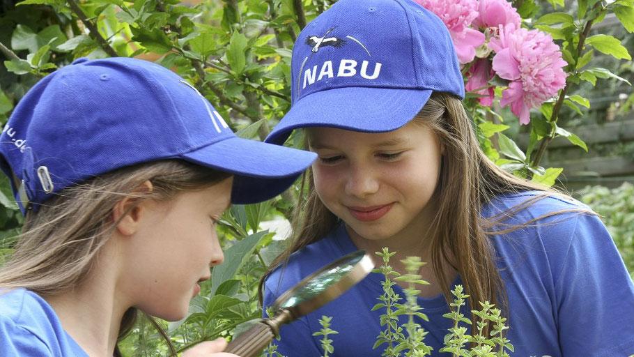 Kleine Naturforscher - Foto:NABU/Christine Kuchem