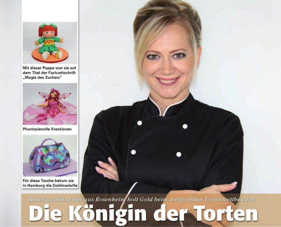 Art Of Cake Design Katerina Schneider : Blick Punkt Rosenheim Oktober 2017 - Katerina Schneider ...