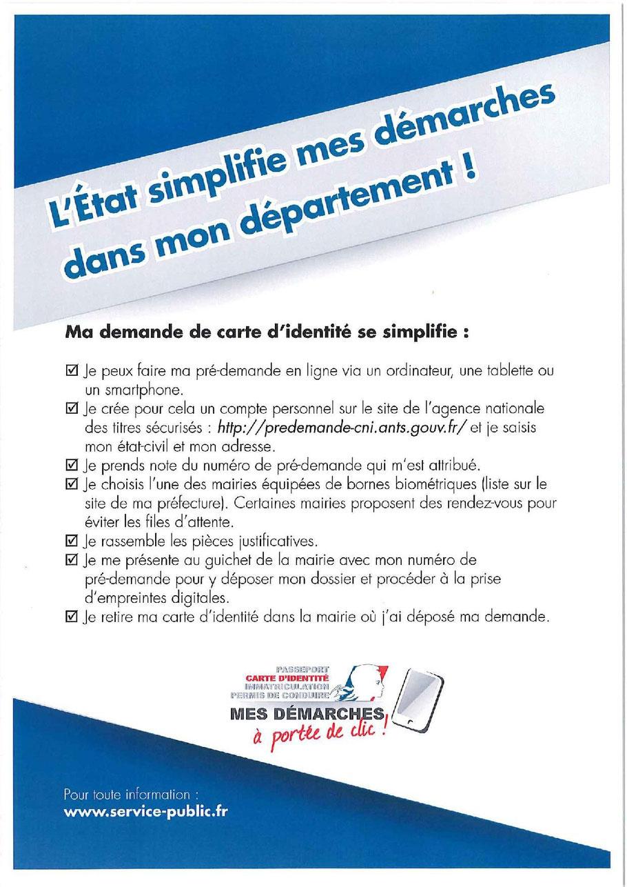 demande carte de presse Carte d'identité   Saint Quentin Lamotte Croix au Bailly