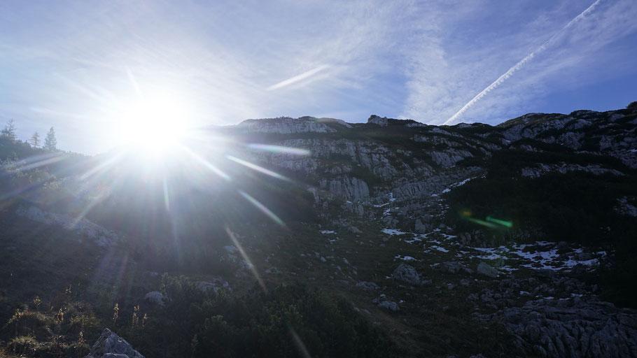 berghundtal, totes gebirge, sam on tour, wandern mit hund, bergsteigen, almtal, oberösterreich,österreich