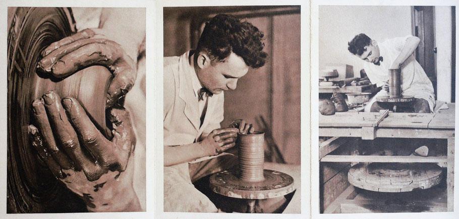 Ansichtskarten vom Winterhilfswerk 1933/34 - ein Geschenk von Michael Wellenbüscher / Zschopau