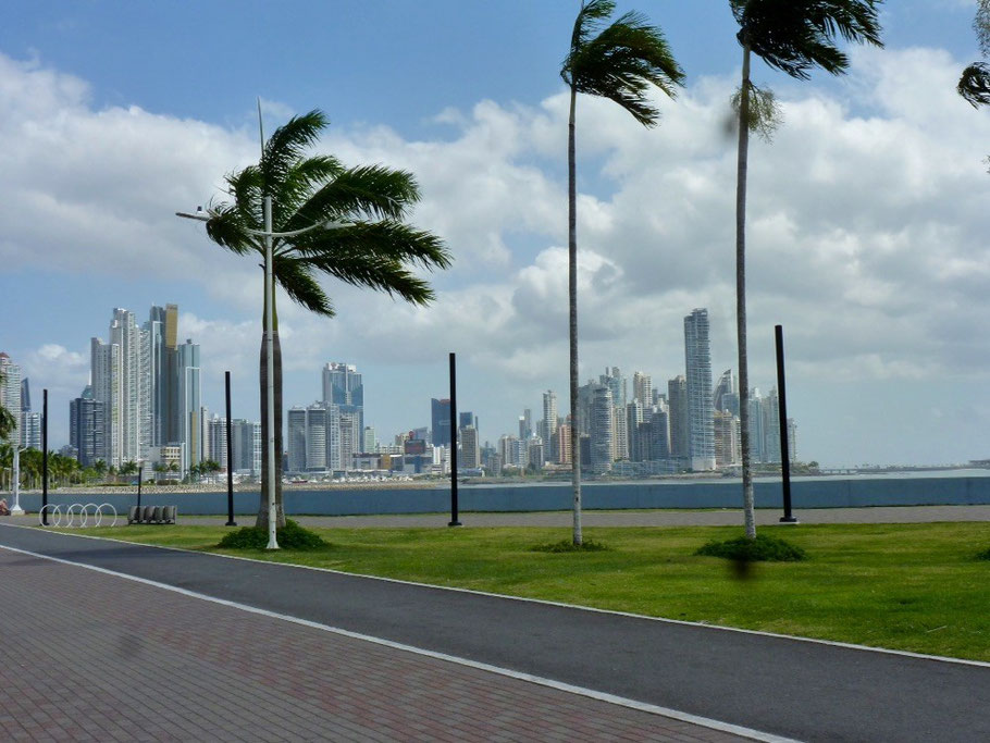 Panama City's beautiful skyline