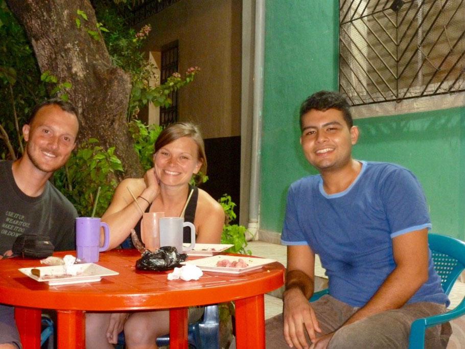 Our El Salvadorian friend, Christian