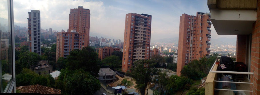 Medellin- view from Karen's balcony