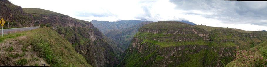 Not bad scenery for our last day riding in Colombia!
