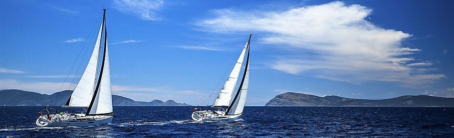 Segelyacht mit Skipper Türkei Segelferien Marmaris Segeltörn Ägäis Mitsegeln Mugla Segelreise Goecek Yachtcharter Bodrum