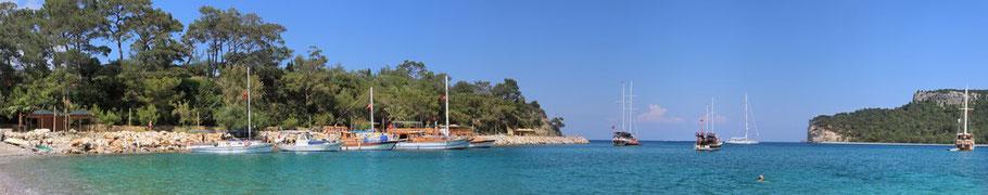 Mitsegeln Türkei Marmaris Segeln mit Skipper Goecek Urlaubstörn Orhaniye Segelreise Bodrum Yachtcharter Fethiye Segeltörn Mugla