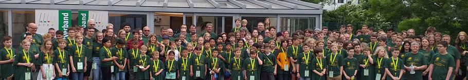 Deutsche Schüler- und Jugendmeisterschaft 2019 in Warnemünde: 39 Bambini - 75 Schüler - 34 Jugend und ca. 50 Betreuer