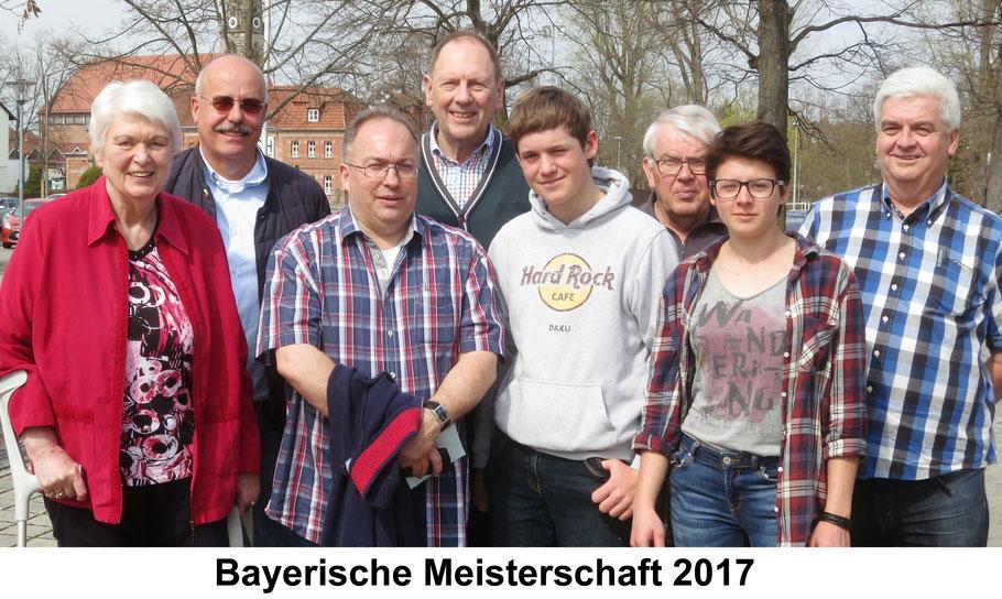 v.l.: Isolde Knauber, Detlef Münnich, Ralf Mayer, Albert Vosseler, Lukas Brandhofer, Manfred Wiegand, Kathi Brandhofer, Karl-Heinz Wallé; (ohne Bild: Gudrun Kuhns) -------- qualifiziert zur DEM:  Kathi Brandhofer und Gudrun Kuhns - herzlichen Glückwunsch!