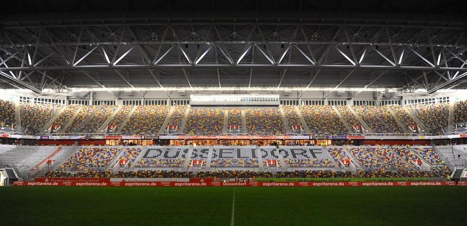 Stadionführungen von und mit ZECCO in der ESPRIT arena