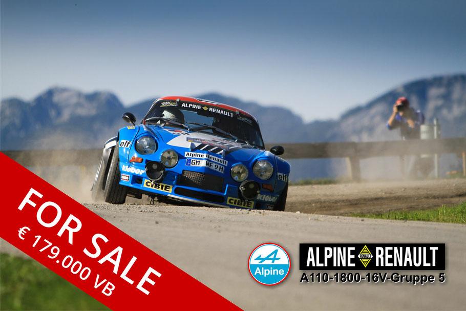 Alpine Renault A110-1800-16V Gruppe 5 Werner Fahnert aus Waldbröl