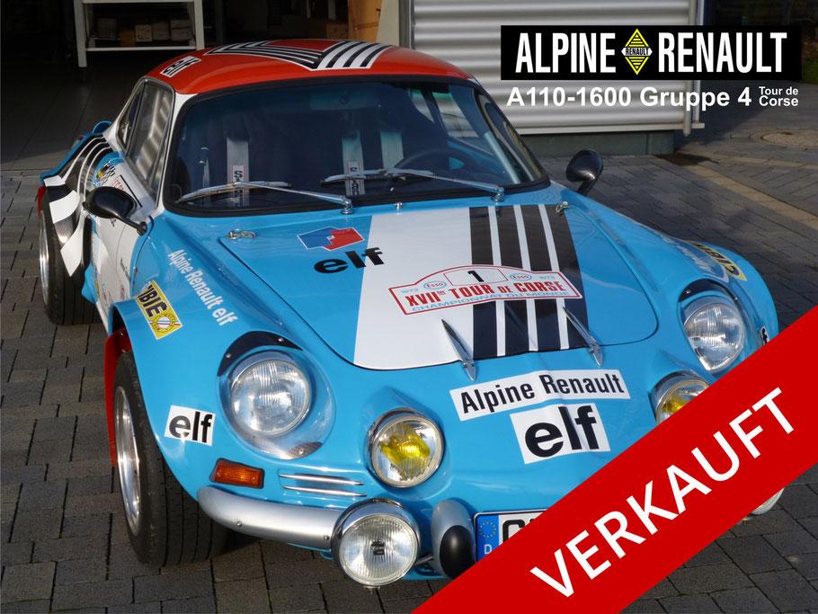 Renault Alpine A110-1600-Gruppe 4 - Werner Fahnert