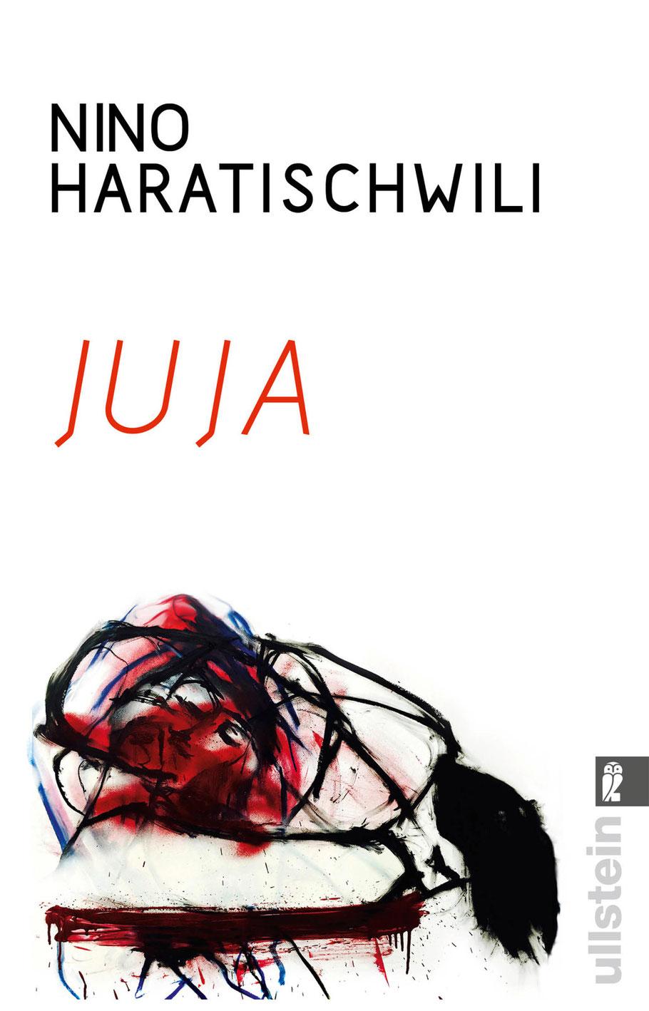 Juja,  Umschlaggestaltung mit Illustration von Julia B. Nowikowa