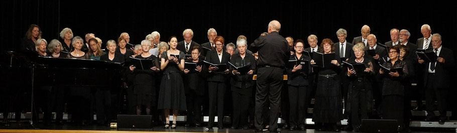Gemischter Chor bei den Chortagen des Chorverbands Filder 2015