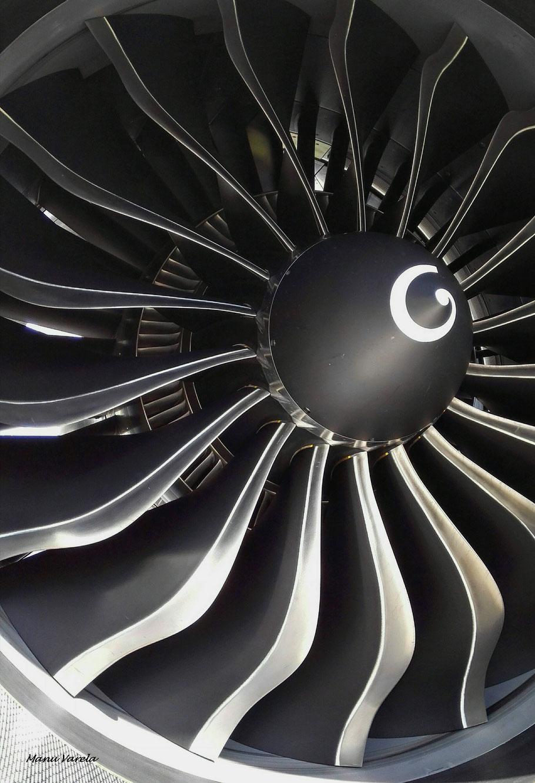 "Turbina motor 1 Airbus A320 Neo IBE ""Getafe"""