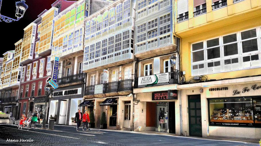 Calle Riego de Agua - La Coruña