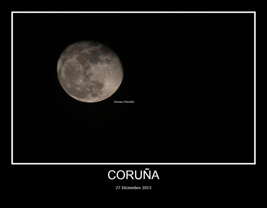 Luna coruñesa