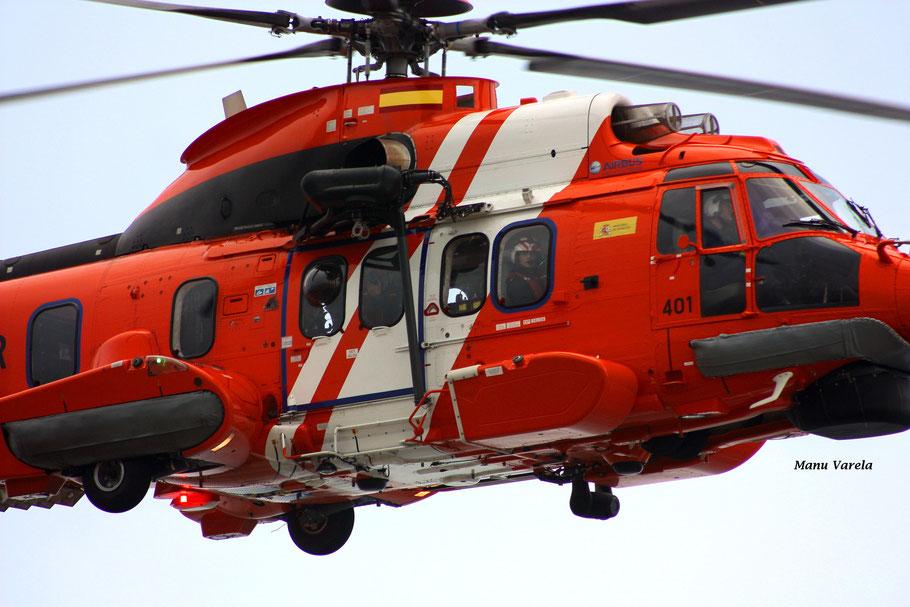 Hélimer401  LCG en acción ! Super Puma