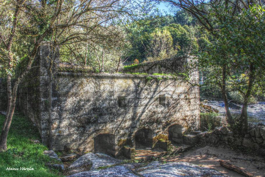 Viejo molino de agua - Ribadavia - Orense