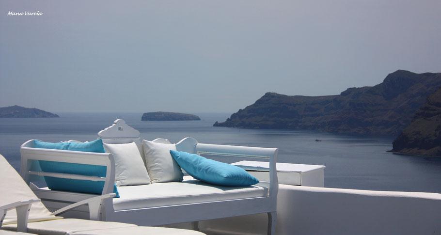 Relax en Santorini - Grecia