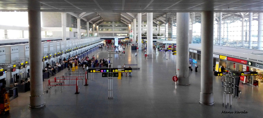 Terminal Pablo Picasso - Málaga - AGP/LEMG