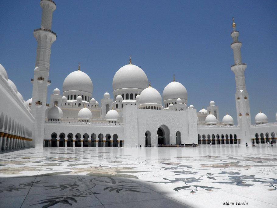 Mezquita de Abu Dhabi - Emiratos árabes