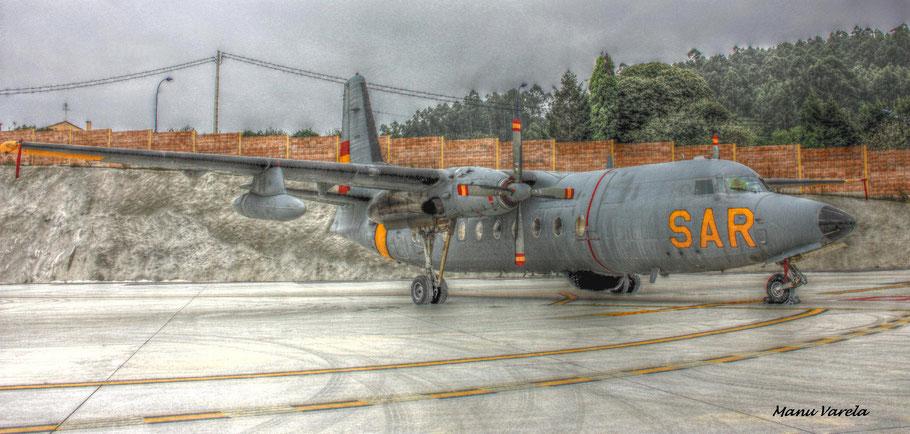 FOKKER 50 SAR (Un histórico de la aviación)