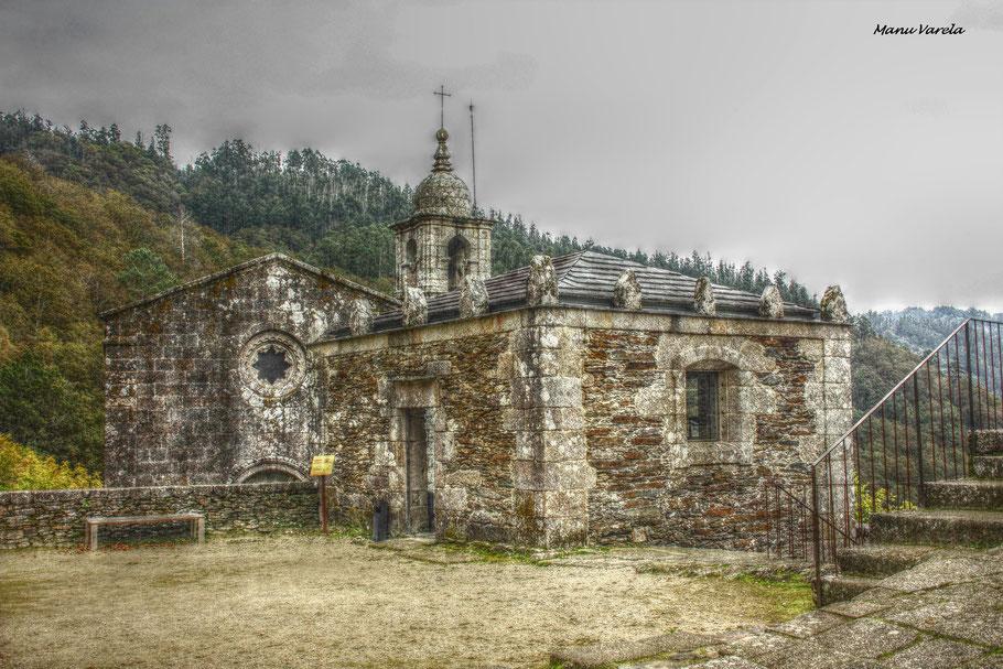 Monasterio de Caaveiro - Puentedeume - La Coruña