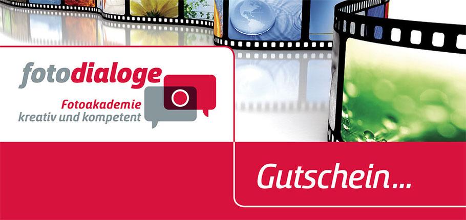 Kurs Gutschein der Fotoschule Fotodialoge aus München