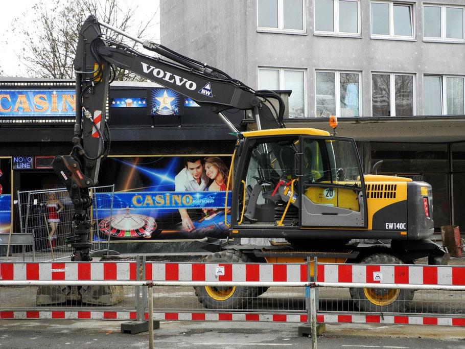 Vor Ort: Volvo EW 140 C (20.12.2012)