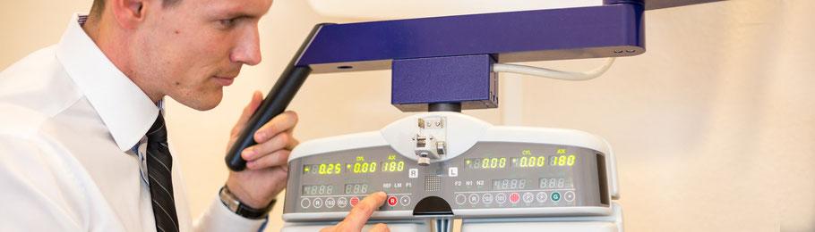Testgerät für optimale Sehleistung