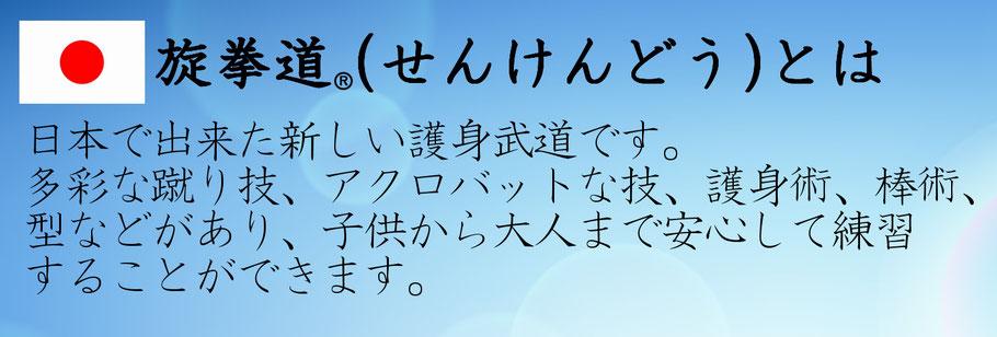 一般社団法人日本旋拳道協会 せんけんどう(センケンドー)