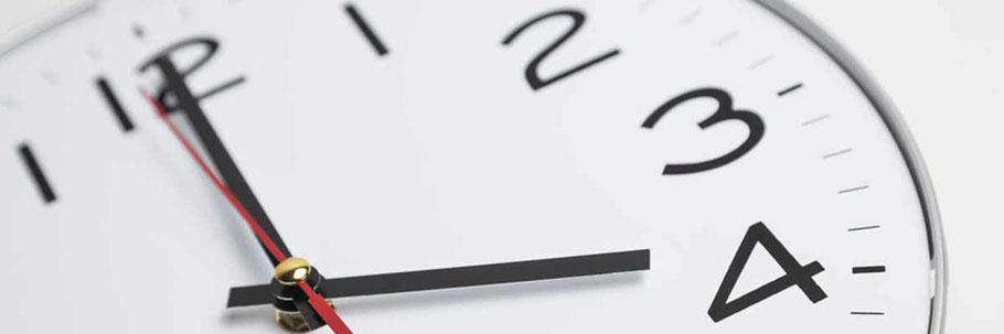 Überstunden - was ist erlaubt? Rechtsanwalt für Arbeitsrecht in Rastatt und Bühl