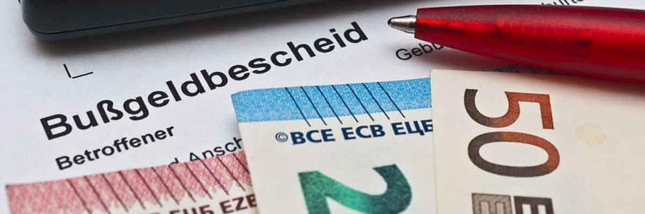 Bußgeldbescheid - Rechtsanwalt für Verkehrsrecht für Rastatt, Baden-Baden und Bühl