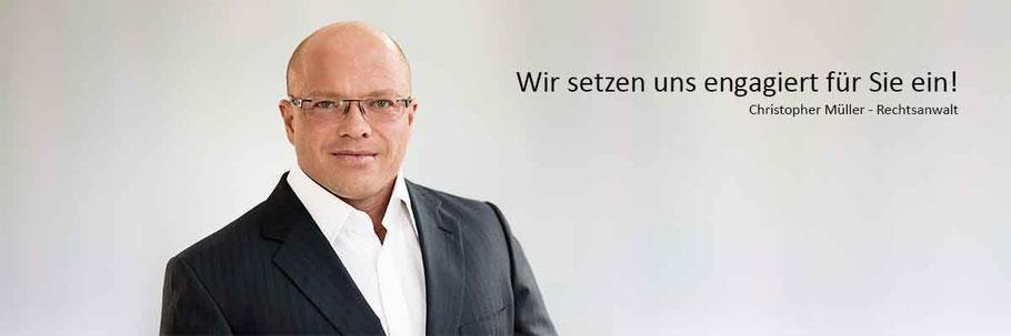 Rechtsanwälte und Fachanwälte in Rastatt und Bühl - Kanzlei Christopher Müller & Kollegen