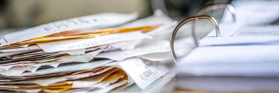 Buchführung und Jahresabschluss - Wir sortieren Ihre Belege!