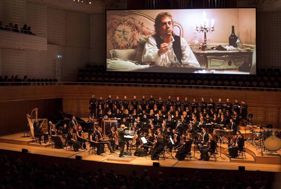 """Die Weltpremiere von """"Amadeus - Live"""" im KKL Luzern (Foto: Priska Ketterer)"""