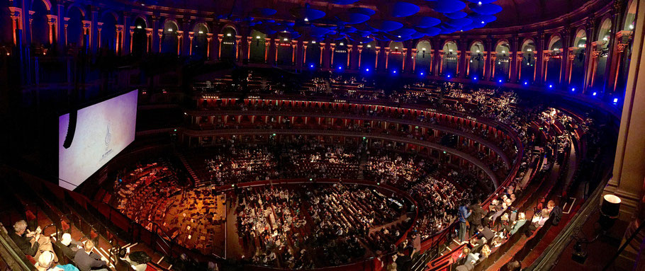 Western Music in Concert in der Royal Albert Hall in London (Foto: Livio Schürmann)