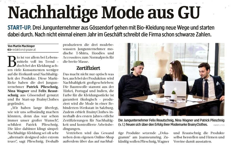 Bio, Graz, Der Grazer, Fairfashion, Nachhaltig, Fair