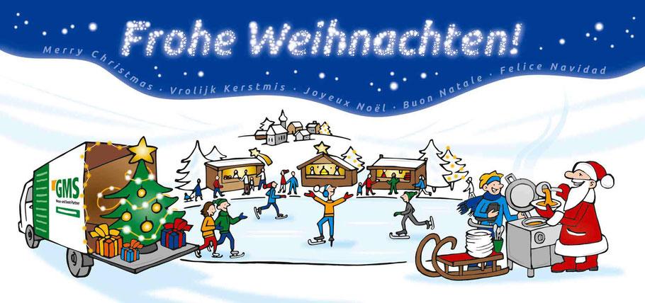 Weihnachtskarte GMS GmbH