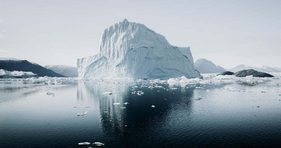 Gletscher in der Arktis. Bild von Annie Spratt auf Unsplash.