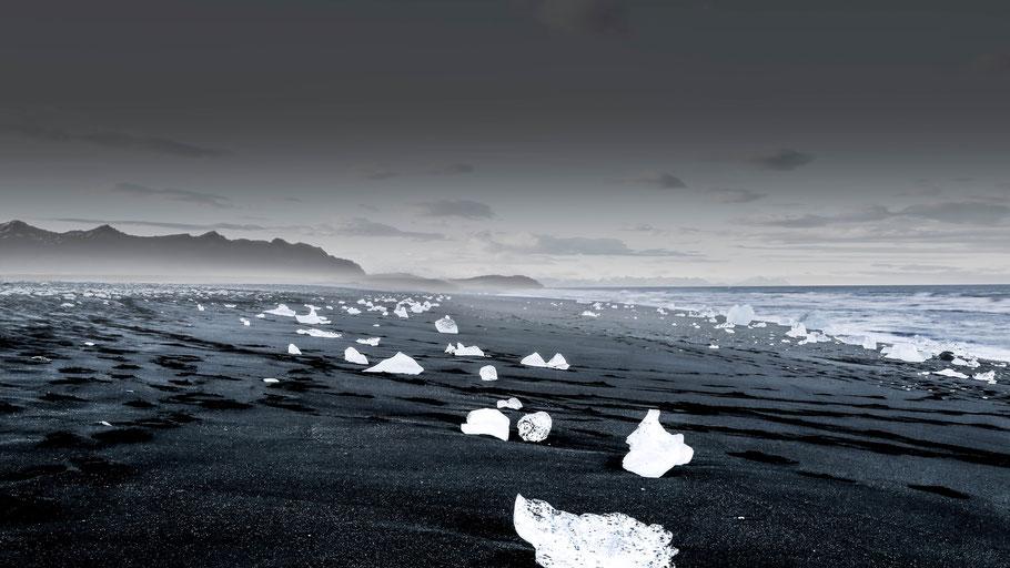 Diamantstrand im Süden der Insel. © Cassie Boca auf Unsplash.