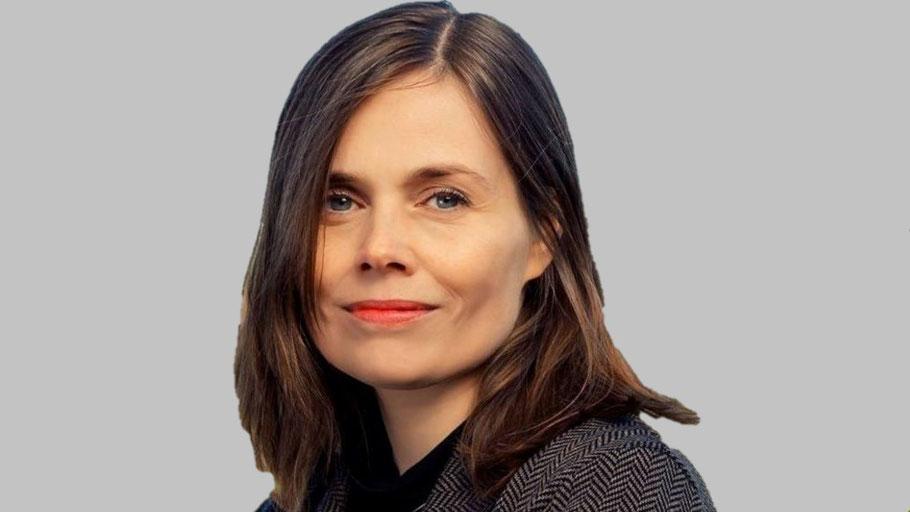 Islands bisherige Regierungschefin Katrín Jakobsdóttir. Bild von Government of Iceland.