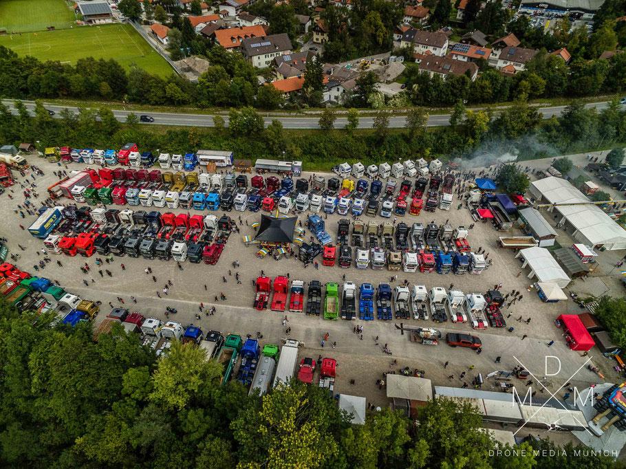 Luftaufnahme Oberland Trucker Treffen 2017