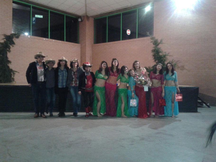 FESTA DI NATALE 2016 DANZA ORIENTALE -COUNTRY DANCE A SAN DIDERO (TO)