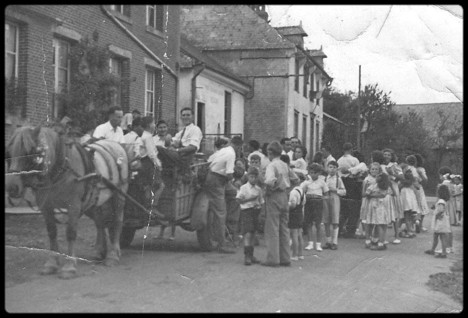 Une fête vers 1950
