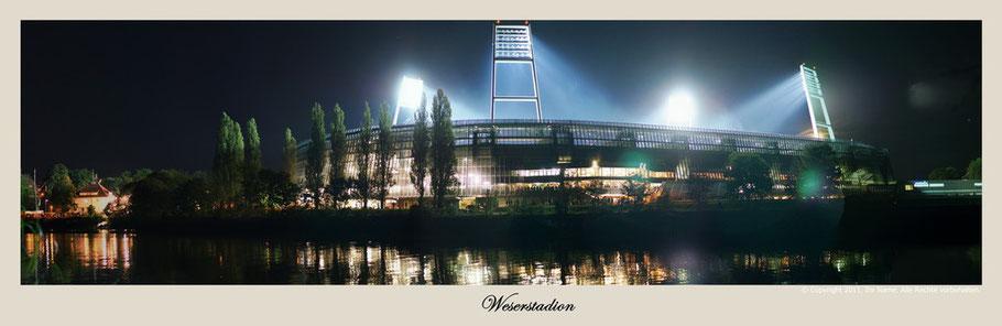 Das Weserstadion während eines Heimspiels